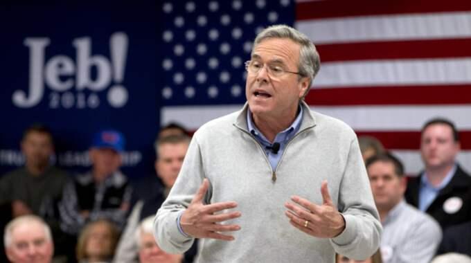 Efter Jeb Bush dragit sig ur nomineringsracet pågår en kamp om kampanjpengarna. Foto: Jacquelyn Martin