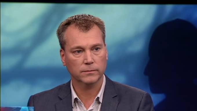 Torgny Söderberg var med i Aktuellt under tisdagskvällen Foto: SVT