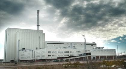Den 50-årige mannen stoppades vid en säkerhetskontroll vid Forsmarks kärnkraftverk. Foto: Krister Larsson