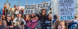 Broar i London stängda  – efter klimatprotester