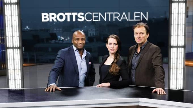 "Thabo Motsieola, Lisah Silfwer och Lennart Ekdal leder ""Brottscentralen"". Foto: Anna-Karin Nilsson"