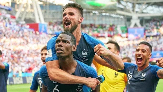 Frankrikes väg till VM-finalen