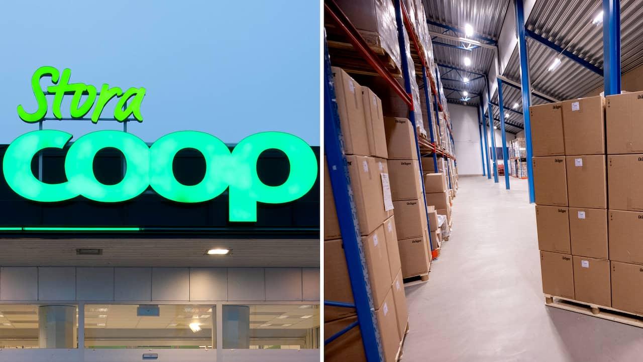 Coop stänger lager och kontor – 130 tvingas bort