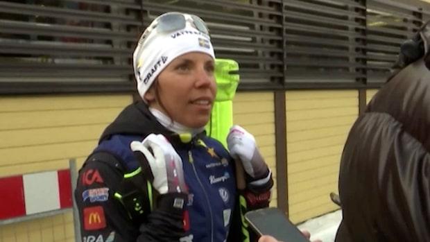 Charlotte Kallas krisdag inför VM – hoppar av SM