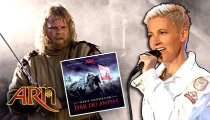 """Marie Fredriksson sjunger ledmotivet till kommande """"Arn""""-filmen """"Riket vid vägens slut""""."""