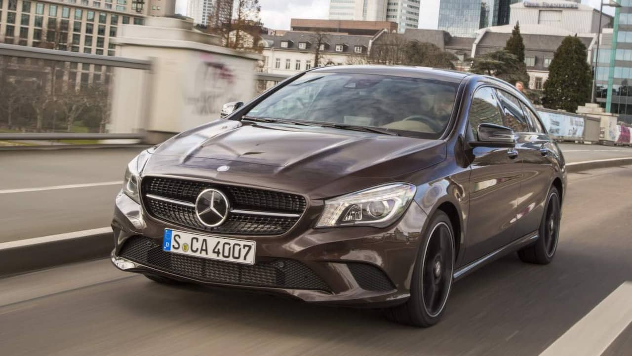 mercedes cla shooting brake test allt om bilar. Black Bedroom Furniture Sets. Home Design Ideas