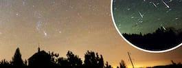 Leoniderna passerar jorden  – håll utkik efter stjärnfall i natt