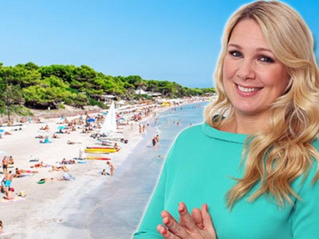 Anna Brolin har ett kärleksfullt förhållande till Ibiza.