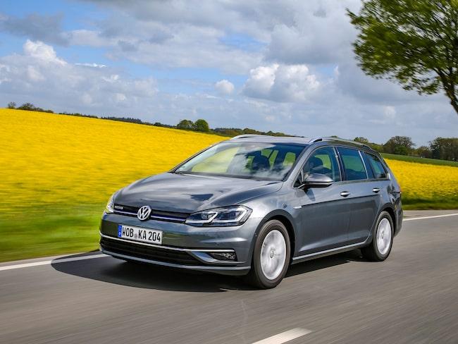 Volkswagen erbjuder åter Golf Sportcombi TGI som drivs på fordonsgas.