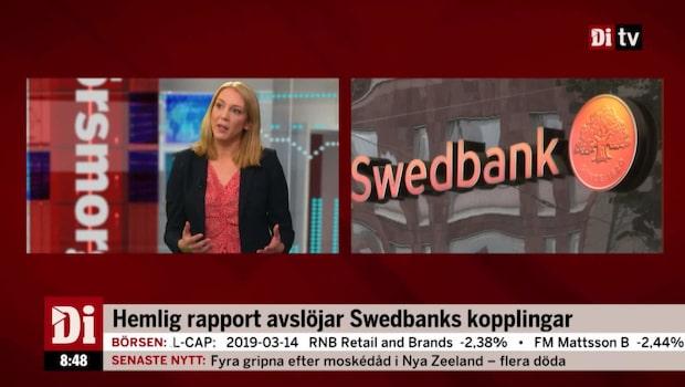 Hemlig rapport avslöjar Swedbanks kopplingar