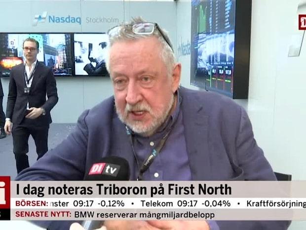 """Leif GW Persson har investerat i Triboron: """"6 miljoner kronor har jag satt in"""""""