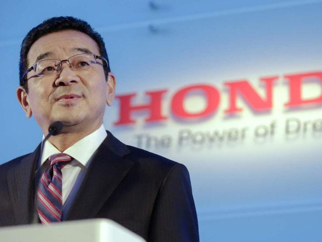 Hondas vd Takahiro Hachigo.