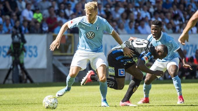 Rasmus Bengtsson var tillbaka efter sin långa skadefrånvaro. Foto: CHRISTIAN ÖRNBERG / BILDBYRÅN