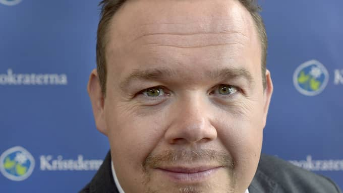 David Lega (KD), oppositionsråd i Göteborg. Foto: PRESSBILD
