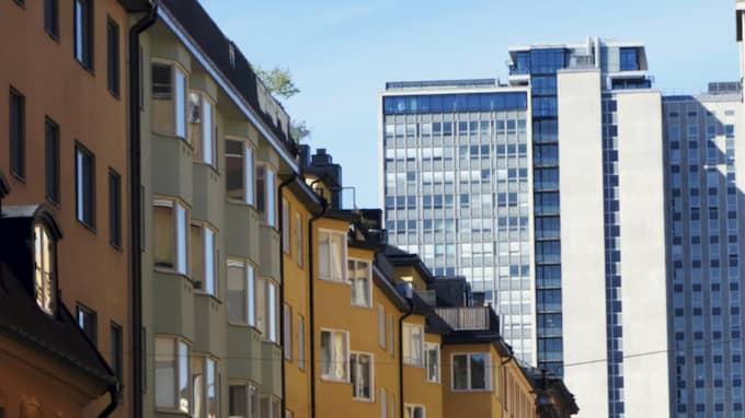 Risken för en bostadsbubbla i Stockholm är stor, menar UBS. Foto: Hasse Holmberg/TT