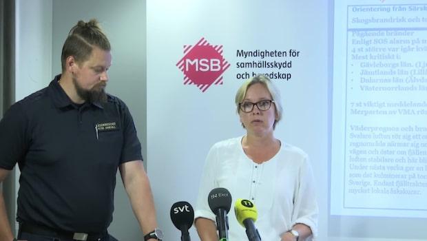 MSB: Vi ser en liten stabilisering
