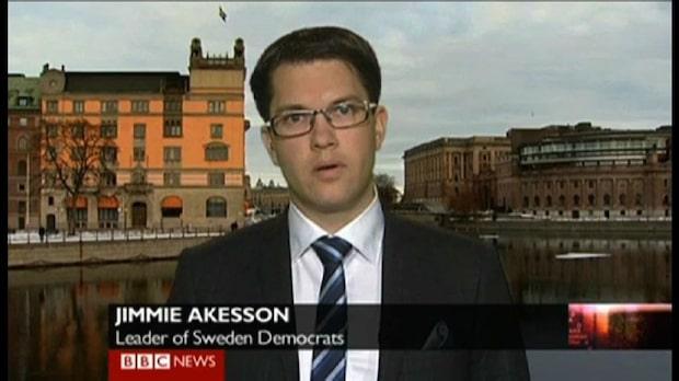 Åkesson hårt pressad av BBC