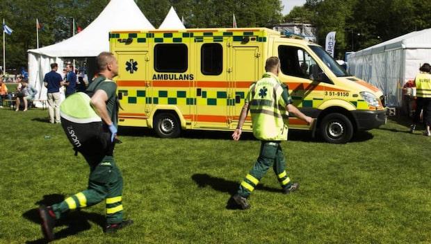 En ung man död efter Göteborgsvarvet