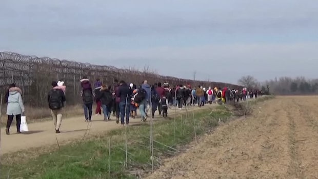 Turkiet släpper igenom flyktingar till Europa