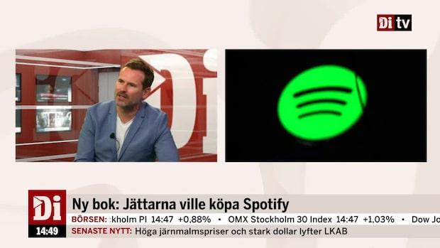 """Ny bok ute om Spotify - """"Mest intressant var nog konflikterna mellan Ek och Jobs"""""""