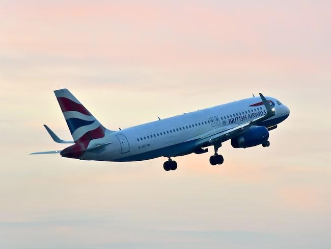En passagerare har stämt British Airways.