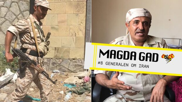 Magda Gad - Generalen om Iran