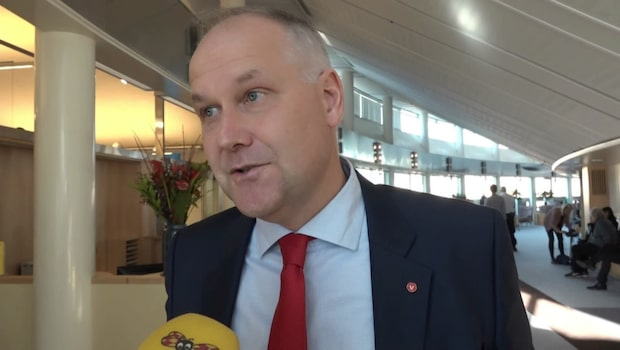 """Jonas Sjöstedt: """"Jag vill att Löfven ska lyckas"""""""