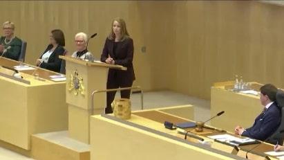 Åkesson och Lööf i klädbråk