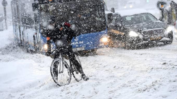 SMHI uppgraderar nu vädervarningarna. Foto: JONAS EKSTRÖMER/TT / TT NYHETSBYRÅN