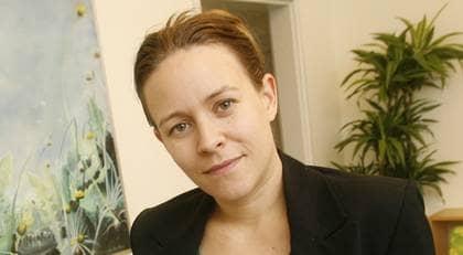 Maria Wetterstrand kräver mycket av regeringen. Foto: CORNELIA NORDSTRÖM
