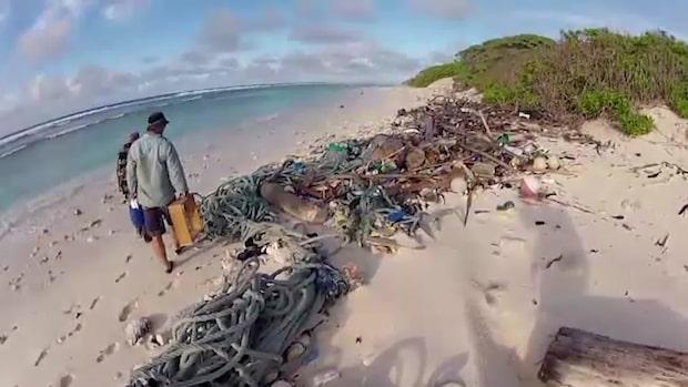 Så mycket plast flyter i världens hav
