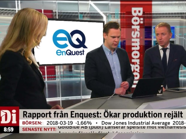 Enquest ökar produktionen rejält