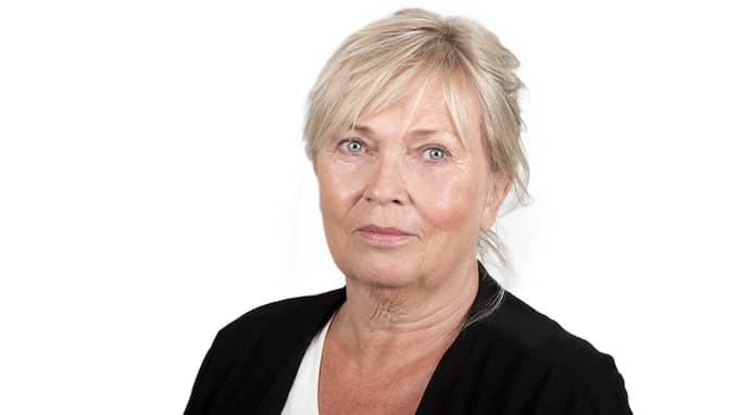 Eva-Lotta Hermansson Truedsson är informatör på polisen i Nordvästra Skåne. Foto: Polisen