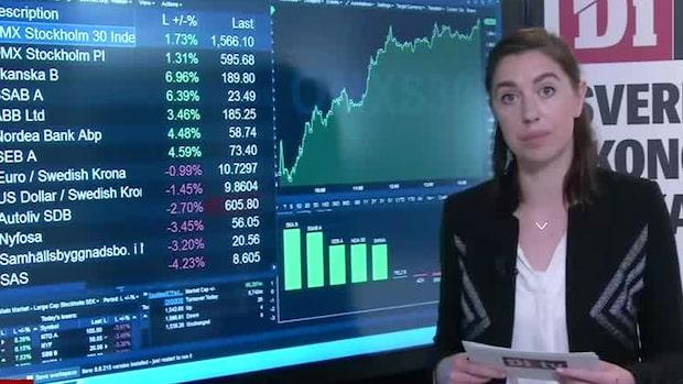 Marknadskoll: Skanska lyfter på rapporten - SAS dalar efter varselbesked