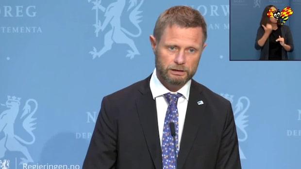 Norge inför rekommendationer om munskydd