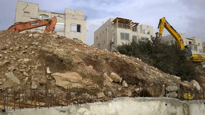 FN:s säkerhetsråd krävde sensationellt nog stopp för Israels bosättningar på Västbanken. Foto: Jim Hollander / Epa / Tt / EPA TT NYHETSBYRÅN