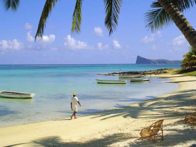 Stränderna är ett av Mauritius triumfkort. De är vackra, långgrunda och vattnet är underbart ljumt.