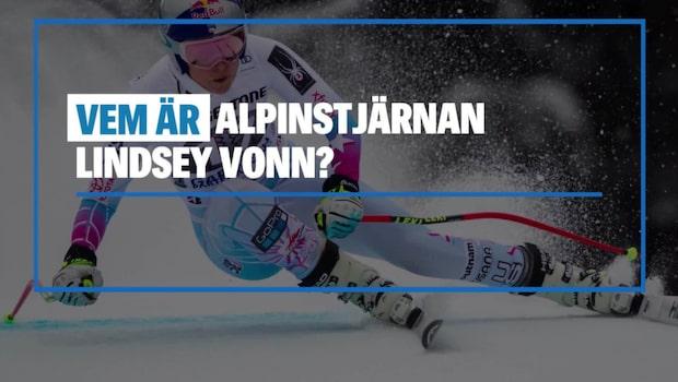 Vem är alpinstjärnan Lindsey Vonn?