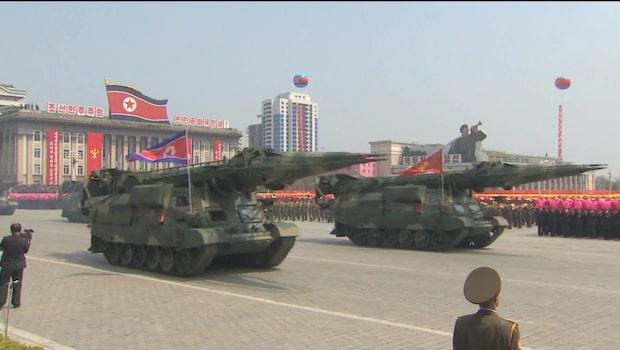 """Nordkoreas varning: Leder till """"okontrollerbart kärnvapenkrig"""""""