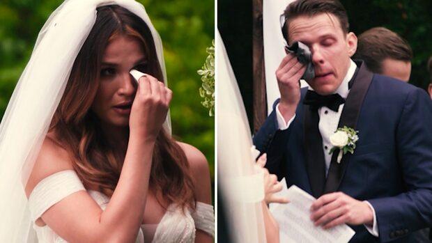 Kristians rörande ord till Anna – bryter ihop under bröllopet