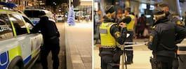 Man attackerad med knivliknande föremål vid galleria i centrala Stockholm