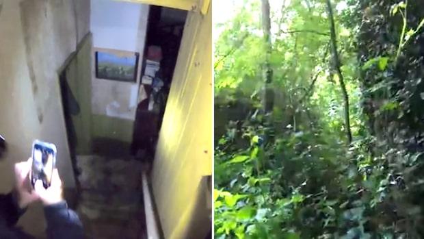 Kusliga bilderna inifrån ödehuset – övergivet i decennier