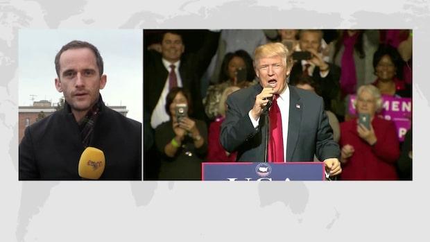 """Tomas Kvarnkullen: """"Republikanerna kommer göra allt för att skydda presidenten"""""""