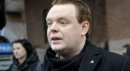 Rickard Falkvinge - Piratpartiets ledare och grundare. Foto: Scanpix