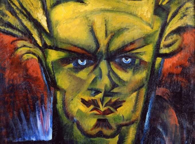 Strindberg (bilden är beskuren).