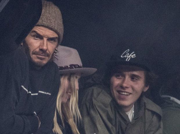 "David Beckhams utbrott: ""Skrek"""