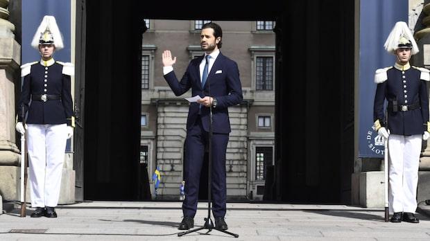 Missen - Prins Carl Philip öppnade inte dörrarna till slottet traditionsenligt