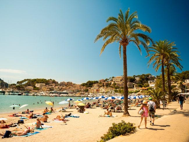 Havsvattennivån stiger runt Mallorca.