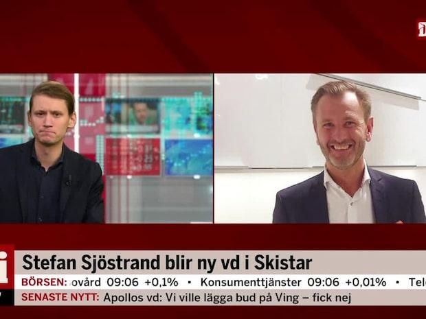 """Nya vd:n för Skistar: """"Känns fantastiskt inspirerande"""""""