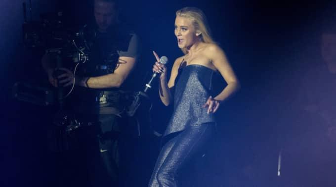 Zara Larsson under P3 Guld. Foto: Anders Ylander